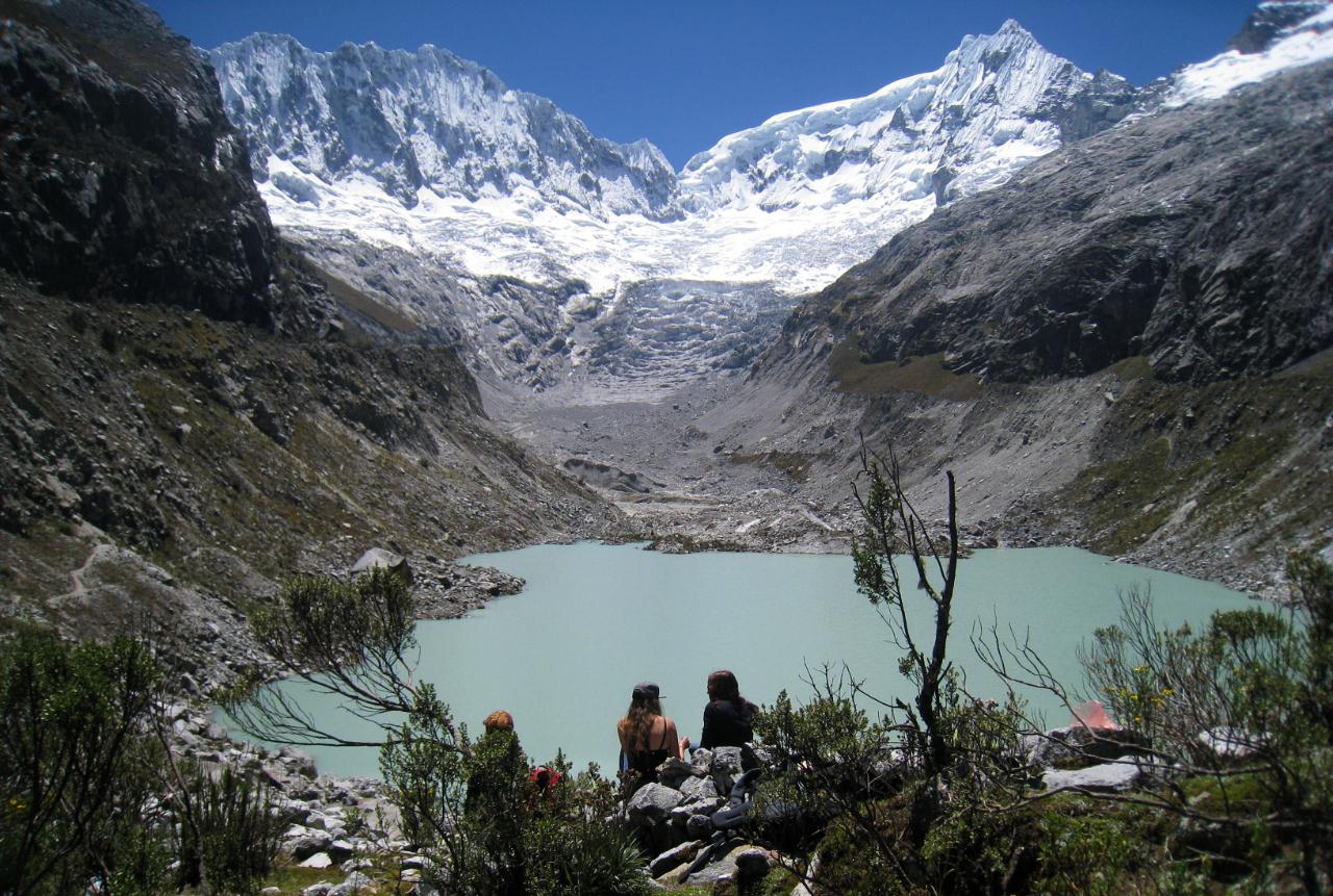 Laguna Llaca Lake